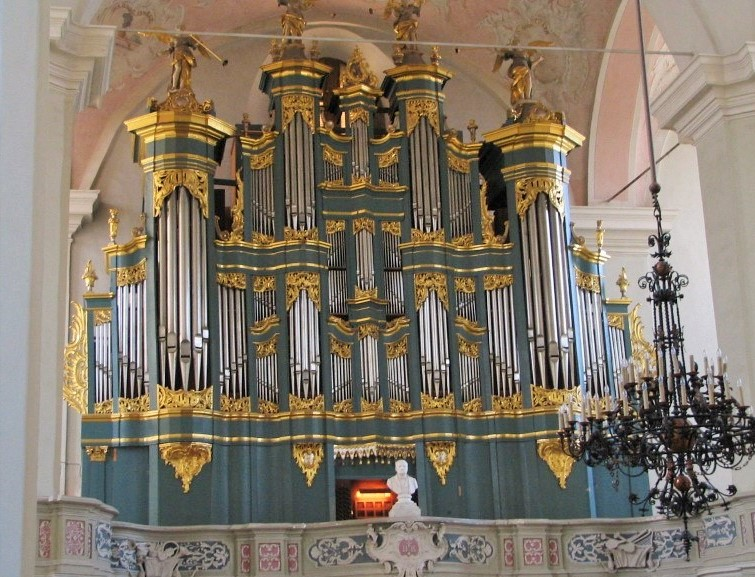 Organ in St Johns Church, Vilnius